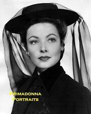 "GENE TIERNEY 8x10 Lab B&W Photo Rare Close-Up Portrait 1947 ""GHOST & MRS MUIR"""