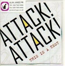 (775D) Attack Attack, This is a Test - DJ CD