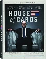 House of Cards ~ Complete 1st First Season 1 One ~ BRAND NEW 4-DISC DVD SET