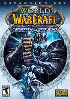 World of Warcraft-Wrath Lich King-PC Windows Mac-Expansion Set-New Sealed