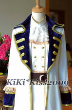 Axis Powers Hetalia Austria Cosplay Military Uniform Victorian Vintage Coat