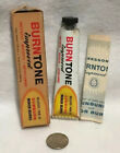 Vintage Burntone Ointment Tube With Box And Paperwork Rare