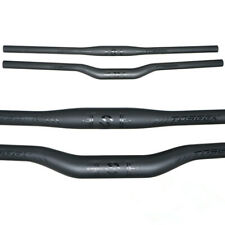 TOSEEK MTB Bike Handlebar Rise Flat Bar UD Carbon Fiber Bicycle Handlebar 31.8mm