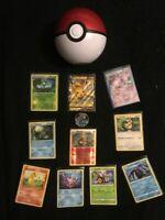 MEGA Pokeball Pokemon Cards Gift Tin Bundle x 100! GUARANTEED GX - EX - V -HOLO