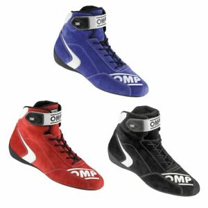 OMP First S FIA Approved Lightweight Motorsport Rally Race Driving Boots / Shoes
