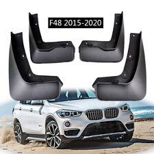 4pcs Set For BMW X1 F48 2016-2020 OE Styled Mudguards Splash Guards Mud Flaps