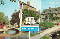 """Rare Vintage Scenic Postcard """"The Cotswolds""""  Gloucestershire England Unposted."""