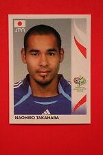 PANINI FIFA WORLD CUP GERMANY 2006 06 N. 451 JAPAN TAKAHARA MINT!!!