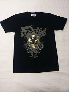 NEW! FAIRTEX Muay Thai  MMA Mixed Martial Arts Men's T Shirt - Black - Sz M