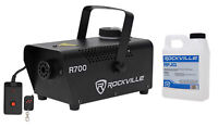 Rockville R700 Smoke Machine Scary Haunted House Thick Fog Effect + Remote