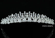 Bridal Wedding Prom Party Homecoming Birthday Tiara use Swarovski Crystal T1405