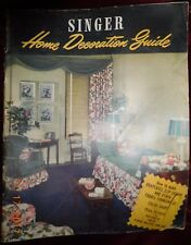 Singer - Home Decoration Guide 1947 How To Make Drapes, Slip Covers & More