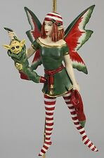 STOCKING DIVA FAIRY ORNAMENT Amy Brown Art NEW Fantasy Figurine Angel Christmas