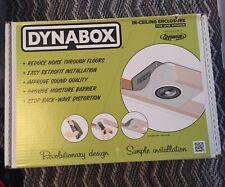 Dynamat No.50306 DynaBox Speaker Enclosure x 2 Bran New