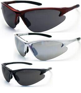 Shaded Safety Glasses Eyewear Silver Mirror Lens black burgundy Frames Choose