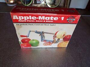 Vintage Norpro Apple-Mate 1 Apple Parer, Peeler, Corer and Slicer - Never Used