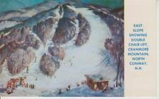 "Ski Poster ""East Slope 1950's"" Cranmore Mountain North Conway NH New Hampshire"