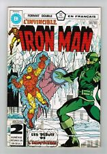 FRENCH COMIC FRANÇAIS EDITION HERITAGE  IRON MAN   #  89 /  90