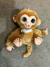 FurReal Friends Cuddles My Giggly Monkey Interactive Hasbro 2012 Talking Chimp