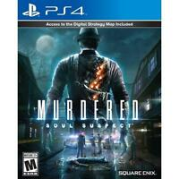 Murdered: Soul Suspect - PS4 - Brand New   Factory Sealed