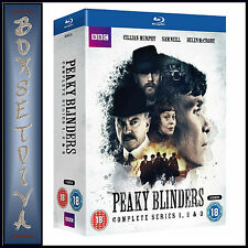 PEAKY BLINDERS - COMPLETE SERIES 1 2 & 3  *BRAND NEW BLURAY BOXSET**