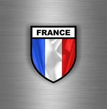 Sticker car moto armee militaria airsoft flag france OPEX army shield