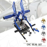 Foot Rest Rearsets Pedal Pegs For Ducati 999 999S 749 Dark 749R 749S 03-06 999R