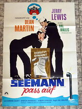 JERRY LEWIS, MARTIN *SEEMANN PASS AUF /SAILOR BEWARE - A1-Filmposter WA - R1960s