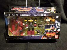 Bandai Gear Fighter Dendoh Knight Oger Action Figure Set Meteofile 02 lib Opened
