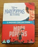 Mary Poppins: 2 Movie Collection Blu-ray Brand New & Sealed . Free UK Postage