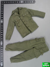 1:6 Scale DID A80140 WWII 2nd Ranger Private Caparzo - HBT Uniform Set