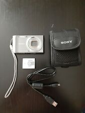 Sony Cyber-shot DSC-W370 14.1MP Digital Camera ~Silver~ with case