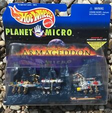Mattel Hot Wheels Armageddon PLANET MICRO - ASTEROID DRILL SITE - 19674