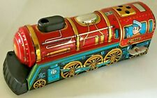 1960's Vintage TIN OVERLAND EXPRESS in Tin Litho Wind Up by YONE C-1648 JAPAN