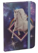 A6 Cosmic Unicorn Hardback Lined Notebook