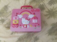 Hello Kitty Puzzle With Tin Lunch Carrier