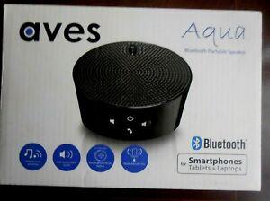 Aves Aqua Portable Wireless Bluetooth Speakers Smartphone Compatible