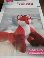 FRASER FOX KNITTING PATTERN 20 CMS WHEN FINISHED BN FROM MAGAZINE