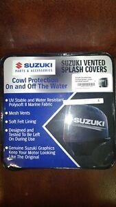 990C0-66003-BLK SUZUKI GENUINE SPLASH GRAY GRAFICS-BLACK COVER DF250AP/300AP