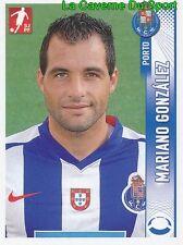 213 MARIANO GONZALEZ ARGENTINA FC.PORTO INTER STICKER FUTEBOL 2009 PANINI
