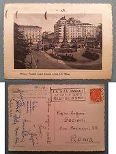 Milano - Piazzale Cinque Giornate e Corso XXII Marzo 1955
