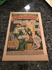 ORIGINAL CAPTAIN MARVEL #4 COVERLESS BUT COMPLETE