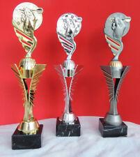 Pokal 3er Serie Dart Pokale TOWER gold silber bronze incl. Gravur NEU 2018