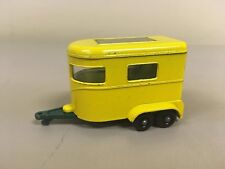 Matchbox Lesney Series No. 43 Yellow Pony Trailer