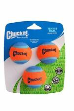 "CHUCKIT SMALL 3 PACK TENNIS BALLS 2"" DOG TOY (PETITE). FREE SHIP IN THE USA"