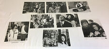 Lot of 8 ELIZABETH TAYLOR  8x10 black and white photos