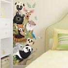 Animals Wall Stickers Door Sticker Corner Decoration Self Adhesive Home Decsn