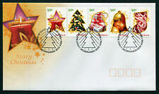 2009 Merry Christmas FDC First Day Cover Stamps Australia