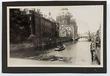 Foto Berlin 1936 schiff boot dampfer kutter