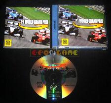 F1 WORLD GRAND PRIX Dreamcast Dc Versione Europea PAL Formula 1 »»»»» COMPLETO